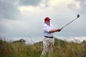 'Ngã ngửa' với số ngày Tổng thống Trump đến sân golf
