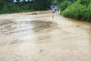 Mưa lũ gây nhiều thiệt hại tại Thái Nguyên