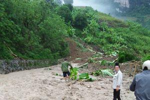 Mường La - Sơn La: Mưa lớn kéo dài gây nhiều thiệt hại