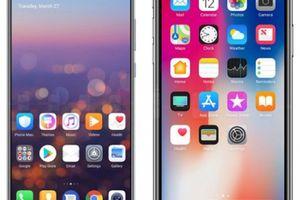 Huawei 'vỗ ngực giương oai', chê 'tai thỏ' kém cỏi của iPhone X