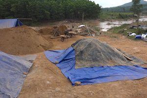 Quảng Nam: Lại 'nóng' tình trạng khai thác khoáng sản trái phép