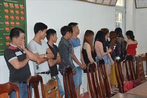 Quảng Nam: Bắt quả tang 34 đối tượng đang sử dụng ma túy trong quán karaoke