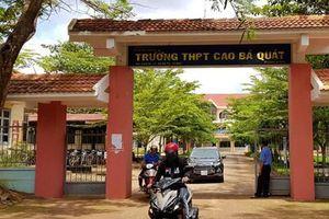 Đắk Lắk: Học sinh đánh nhau với bạn, dẫn người vào trường hành hung thầy giáo gãy xương mũi
