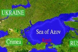 Ukraine chống lại Nga kiểm soát hoàn toàn eo Kerch