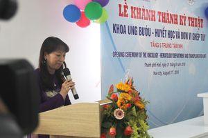 Người phụ nữ Nhật vận động xây dựng khoa điều trị ung thư nhi tại Huế