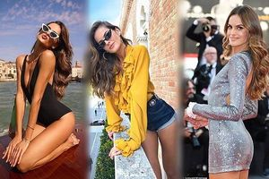 Siêu mẫu Brazil Izabel Goulart gợi cảm hết cỡ ở Venice