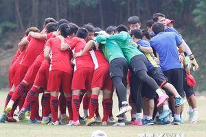Cận cảnh buổi tập của đội Olympic Việt Nam trước trận gặp UAE