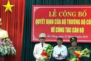 Chân dung tân Giám đốc Công an Đà Nẵng Vũ Xuân Viên