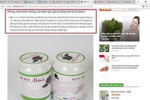 Vừa bị xử phạt, Công ty CP đầu tư Akina Đông Á tiếp tục quảng cáo sai sự thật?