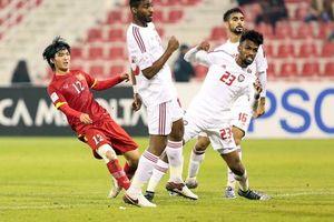 Lịch sử đối đầu UAE chống lại Olympic Việt Nam