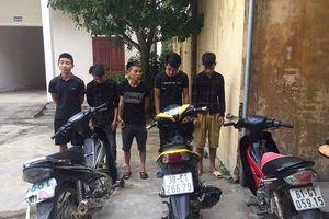 Công an Thị xã Hồng Lĩnh kịp thời bắt giữ nhóm cướp liên huyện