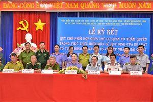 VKSND tỉnh Bà Rịa – Vũng Tàu: Ký kết Quy chế phối hợp với 6 cơ quan trên địa bàn