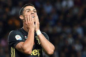 Ronaldo lạc lõng trong trận thắng thứ 3 của Juventus tại Serie A