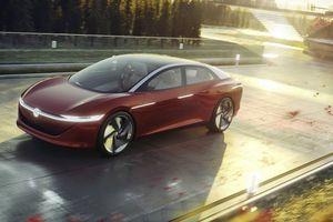 Volkswagen I.D. Vizzion: xe điện hạng sang đấu với Mercedes S-Class