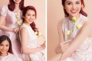 Ngỡ ngàng với nhan sắc 2 con gái xinh đẹp lai Ấn Độ của hoa hậu Diệu Hoa