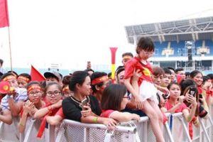 Lễ vinh danh 'Tự hào Việt Nam' tại SVĐ Mỹ Đình: Hoành tráng