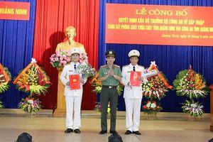 Bộ Công an điều động thêm 2 PGĐ cho Công an tỉnh Quảng Ninh