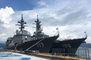 Philippines đón tàu chiến Nhật đến thăm