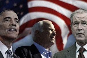 Ba cựu Tổng thống Mỹ tham dự đám tang ông McCain