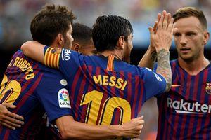 La Liga: Messi và Suarez đua nhau tỏa sáng, Barcelona vùi dập tân binh