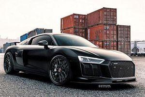 Siêu xe Audi R8 V10 Plus độ máy bay tàng hình khủng