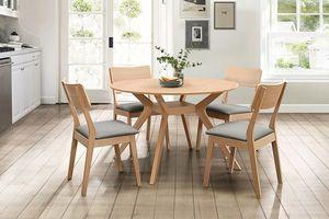 Những mẫu bàn tròn tiết kiệm không gian