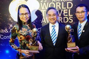 Vietravel nhận giải thưởng du lịch thế giới WTA 2018