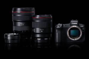 Canon lần đầu ra mắt máy ảnh full frame không gương lật