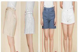 Đùi to, chân ngắn cứ mặc 6 kiểu quần sooc này là thon thả ngay