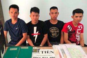 Nhóm cho vay nặng lãi từ Hải Phòng vào Đà Nẵng 'hành nghề'