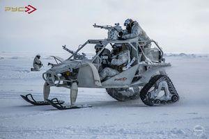 Mục kích xe địa hình tấn công 'quái dị' của đặc nhiệm Nga