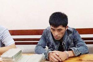 Nghệ An: Bắt giữ đối tượng vận chuyển 10 bánh heroin đi tiêu thụ