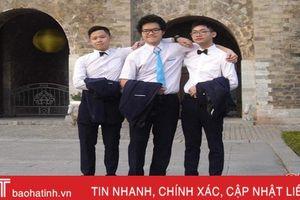 Học sinh người Hà Tĩnh giành Huy chương vàng Olympic Tin học quốc tế