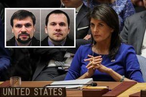 Vụ đầu độc cựu điệp viên: Mỹ kêu gọi Nga dẫn độ 'hai kẻ giết người'