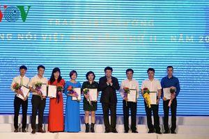 VOV trao Giải thưởng Tiếng nói Việt Nam lần thứ II-2018