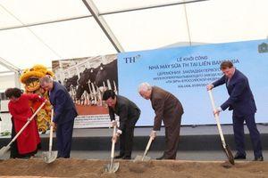 Tập đoàn TH khởi công nhà máy chế biến sữa 1.500 tấn/ngày tại Nga