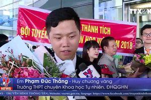 Việt Nam giành Huy chương Vàng tại Olympic Tin học quốc tế