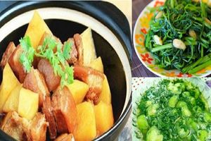 Gợi ý 3 món ngon đơn giản mà ngon miệng cho bữa cơm chiều cuối tuần