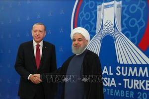 Tuyên bố chung Hội nghị thượng đỉnh 3 bên về Syria nhấn mạnh tới giải pháp chính trị