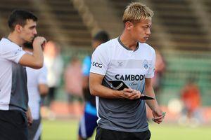 Keisuke Honda có thành công cùng đội tuyển Campuchia?