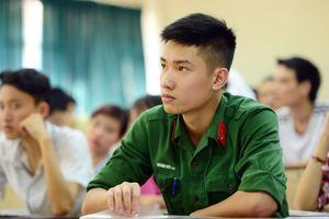Các trường quân đội tuyển sinh bổ sung hơn 50 chỉ tiêu