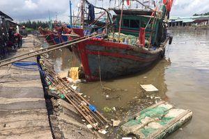 Hải Phòng: Cảng cá, bến cá bị sa bồi, xuống cấp, ô nhiễm môi trường