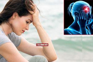Đau nửa đầu: Dấu hiệu cảnh báo bệnh trầm cảm dễ bị bỏ qua
