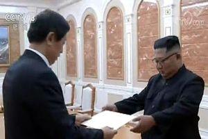 Nhà lãnh đạo Triều Tiên nhận thư của Chủ tịch Trung Quốc