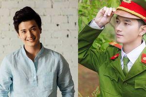 Nam cảnh sát cơ động Đắk Lắk được ví là bản sao hot boy Huỳnh Anh