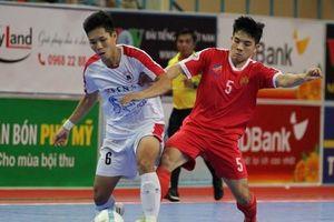Trực tiếp Futsal HDBank VĐQG 2018: Sannatech Sanest Khánh Hòa vs Cao Bằng
