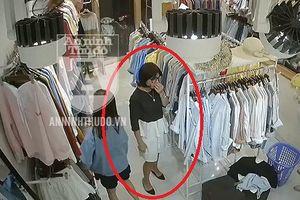 Cảnh giác: 'Nữ quái' ăn mặc như... dân văn phòng, mở tủ giữ đồ ăn trộm trong nháy mắt