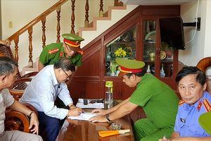 Phú Yên: Bắt giam nguyên Chủ tịch huyện Đông Hòa tại nhà riêng
