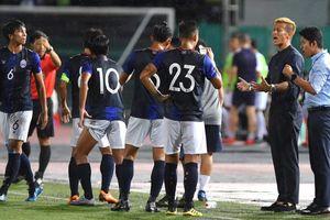 Đội tuyển Campuchia bại trận trong ngày HLV Keisuke Honda ra mắt
