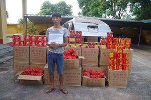 Lạng Sơn: Bắt quả tang, thu giữ hơn nửa tấn pháo lậu